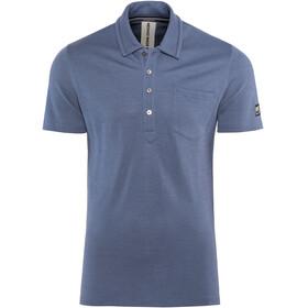 super.natural Comfort Piquet Kortærmet T-shirt Herrer blå